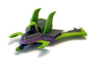 Evil Jet in Full Color Sandstone
