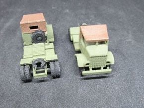 1/144 Autocar Tractor US Army 1 piece in White Natural Versatile Plastic
