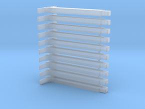 Bahnsteigsstütze 10er in Smoothest Fine Detail Plastic: 1:87 - HO