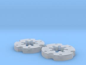 Radgewichte Weise Toys Fendt 615 in Smooth Fine Detail Plastic