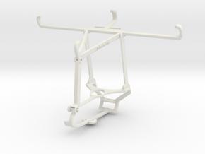 Controller mount for Steam & Tecno Spark 6 Go - To in White Natural Versatile Plastic