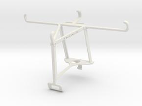Controller mount for Xbox One S & Tecno Spark 6 Go in White Natural Versatile Plastic