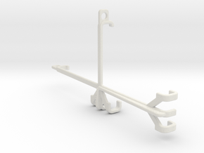 Tecno Spark 6 Go tripod & stabilizer mount in White Natural Versatile Plastic