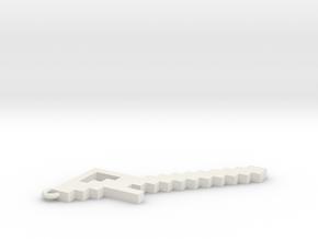 Glass Sword in White Natural Versatile Plastic