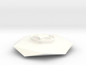 Money-making robots in White Processed Versatile Plastic
