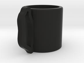 Glass of water in Black Natural Versatile Plastic