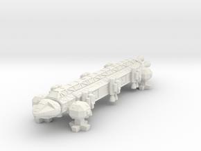 "Spacer1999 Super Eagle ""Operation Exodus"" in White Natural Versatile Plastic"