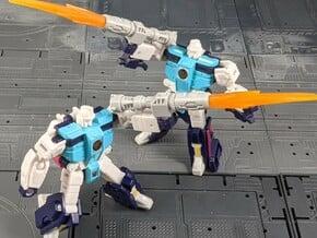 TF Siege Titans Return Legends Fusion Cannon Set in White Natural Versatile Plastic