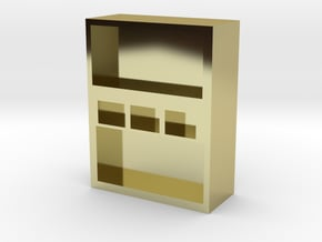 box in 18K Yellow Gold
