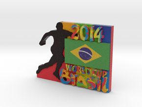 2014 World Cup - Brazil in Full Color Sandstone