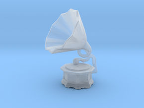 Printle Thing Gramophone - 1/24 in Smoothest Fine Detail Plastic