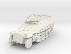 Sdkfz 251/9 D Stummel 1/72 in White Natural Versatile Plastic