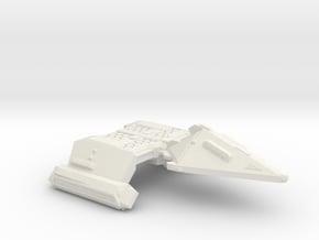 3788 Scale Neo-Tholian X-Ship Heavy Cruiser (NCX)  in White Natural Versatile Plastic