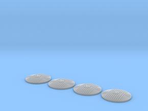 046001-01 Head Light Lenses in Smooth Fine Detail Plastic