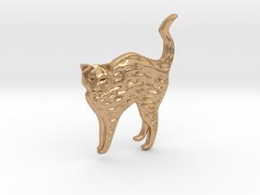 Bonnard's Cat in Natural Bronze