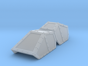 SciFi Hyldria aircraft canopy TEST 2 in Smoothest Fine Detail Plastic