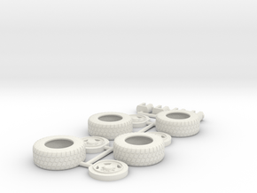 Tires for Siege Hound or Selects Hot Shot in White Natural Versatile Plastic