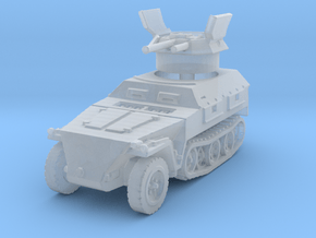 Sdkfz 250/9 B 2cm (open) 1/144 in Smooth Fine Detail Plastic
