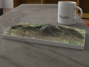 Croagh Patrick, Mayo, Ireland, 1:25000 in Natural Full Color Sandstone