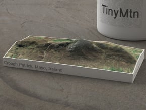 Croagh Patrick, Mayo, Ireland, 1:50000 in Natural Full Color Sandstone
