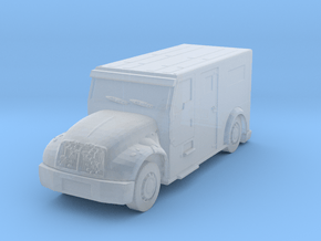 International Armored Truck 1/200 in Smooth Fine Detail Plastic