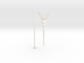 1/6 Horde Staff in White Processed Versatile Plastic