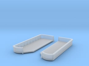 1/600 Richelieu Fore 20mm x4 Tub SET in Smooth Fine Detail Plastic