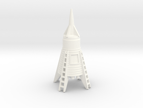Lost in Space - Hapgood Space Ship in White Processed Versatile Plastic