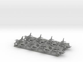 """F-16D """"Barak"""" & I """"Sufa"""" w/Gear (MD) in Gray PA12: 1:400"""
