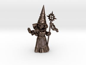 """6"""" Gnomess in Polished Bronze Steel"""