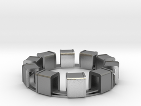 Ring Of Transformers in Natural Silver