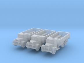 Austin K6 3t 6x4 hatch (open) (x3) 1/285 in Smooth Fine Detail Plastic
