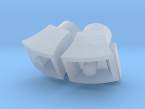 FSS Speakers Square Bracket 1:72 in Smooth Fine Detail Plastic