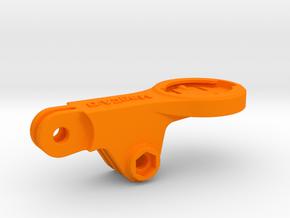 Garmin 1030 Mid GoPro BMC Mount in Orange Processed Versatile Plastic