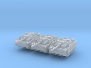 StuG III G late (schurzen) (x3) 1/285 in Smooth Fine Detail Plastic