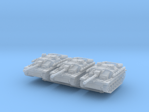 StuG III G late (x3) 1/285 in Smooth Fine Detail Plastic