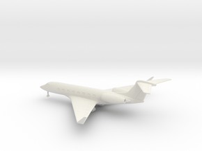 Gulfstream G650 in White Natural Versatile Plastic: 1:160 - N