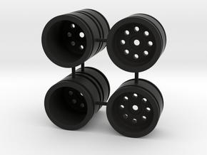 double rim micro craler scx24 losi mc in Black Natural Versatile Plastic
