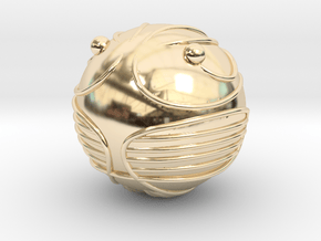 The Golden Snitch  (14K GOLD) in 14K Yellow Gold