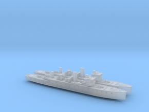 HMIS Hindustan 1/2400 (Folkestone Class) x2 in Smooth Fine Detail Plastic