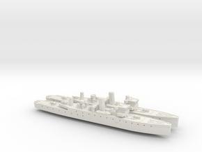 HMIS Hindustan 1/1250 (Folkestone Class) x2 in White Natural Versatile Plastic