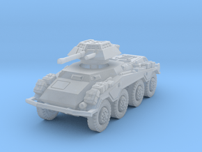 Sdkfz 234-1 late 1/160 in Smooth Fine Detail Plastic