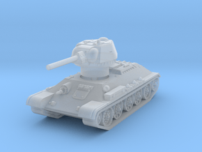 T-34-76 1942 fact. 183 mid 1/144 in Smooth Fine Detail Plastic