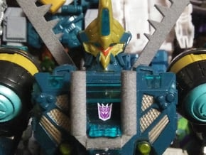 Transformers cybertron menasor replacement parts in White Natural Versatile Plastic