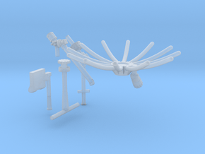 11dfg-12c-13b-Antennas and map holder in Smooth Fine Detail Plastic
