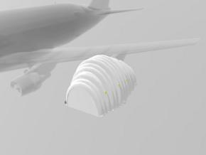Jet Engine Tent (large) 1/500 in White Natural Versatile Plastic