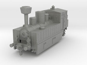 Locomotive 178 armored 1:100 in Gray PA12