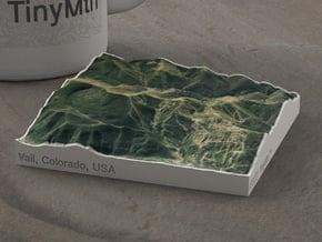 Vail in Summer, Colorado, USA, 1:100000 in Full Color Sandstone