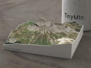 Uncompahgre Peak, Colorado, USA, 1:25000 in Natural Full Color Sandstone