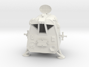 Lost in Space  - Space Pod  - 1:24 in White Natural Versatile Plastic